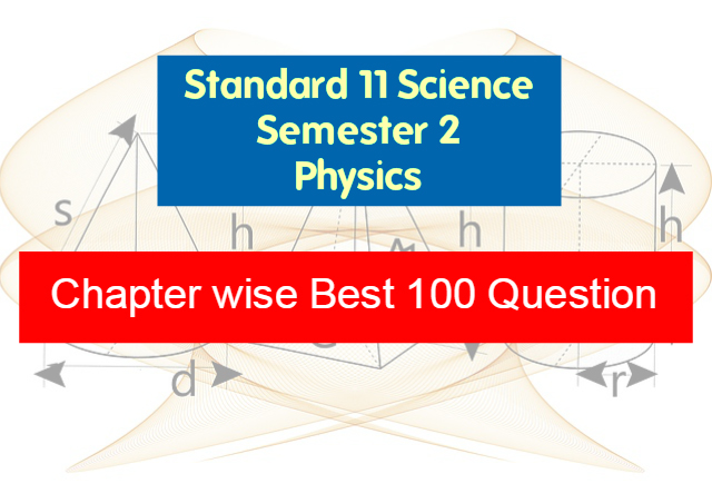 standard 11 science physics material