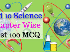standard 10 science material